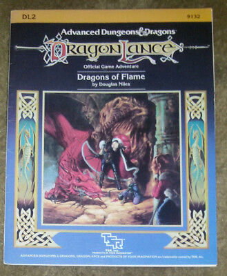 Dragons of Flame (Dragonlance Module, No. DL2)  Advanced Dungeons & Dragons AD&D