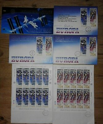 Isle of Man fdc collection Europa '91 space