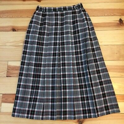 Vintage Checked Skirt (70's)