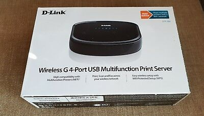 D-Link DPR-2000 Wireless G and Ethernet 4-ports USB multifunction Print Server