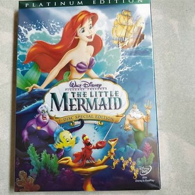 NEW! Disney The Little Mermaid (DVD, 2006, 2-Disc Set, Platinum Edition)