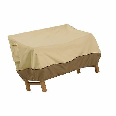 Classic Accessories Veranda Deep Patio Loveseat Cover - Durable and Water Res...