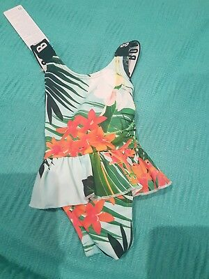 Bonds Baby Swim suit Aloha Mint Girls size 000 NWT (#2)