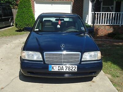 1996 Mercedes-Benz 200-Series  mercedes-benz c220 1996, Navy Blue