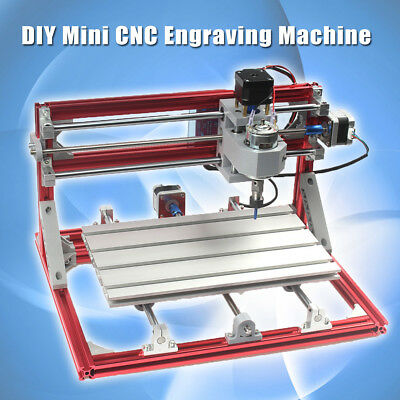 3018 CNC Wood Engraving Carving PCB Milling Machine Router Engraver GRBLControl