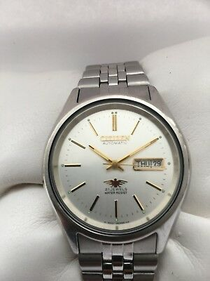 Citizen Men's Automatic 21 Jewels Day/Date Automatic Silver Dial Watch