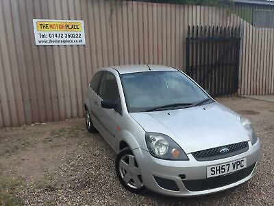 Ford Fiesta Style Climate 1.25 Manual Petrol Silver 3 Door Hatchback 2007/57