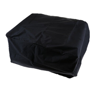 Black Waterproof Outboard Motor Boat Engine Protector Cover for 30-90 HP