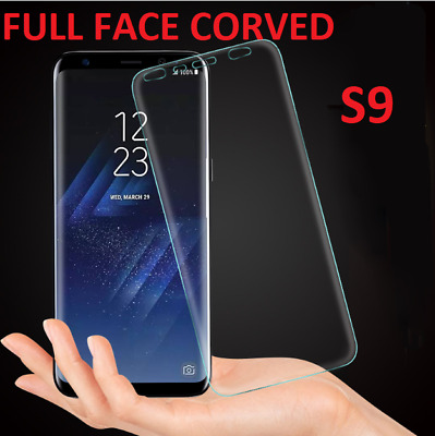 3 x Full Coverage Ultra Clear (TPU) Screen Protector Film For Samsung Galaxy S9