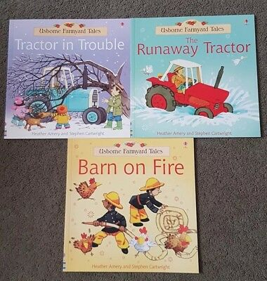 Usborne Farmyard Tales Story Collection 3  Book Set  School Home Reading EUC