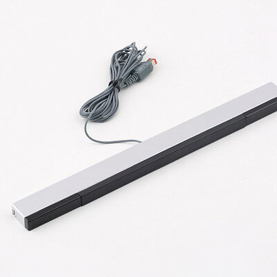 New Wired Infrared IR Signal Ray Sensor Bar/Receiver for Nitendo Wii Remote SL