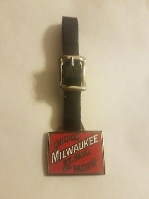 Chicago Milwaukee St. Paul and Pacific Railroad Train Watch Fob