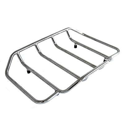 Chrome Top Rail for use with Tour Pak for Harley-Davidson Touring Models 00-13