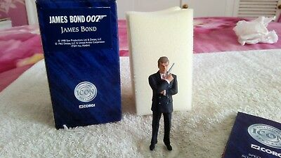 Corgi icon James bond collection mint, including the ultra rare Jaws figure