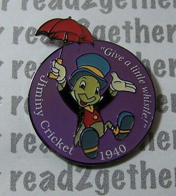 Disney Pin DS Countdown to the Millennium Series #83 Jiminy Cricket