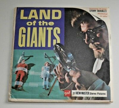 Vintage Land Of The Giants 1968 Viewmaster Reels Set B494 Rare  B830