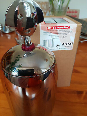 Alessi Anna G Kitchen Box in Stainlesss Steel Alessandro Mendini