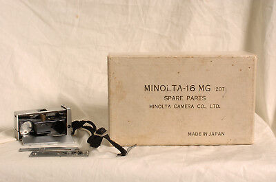 Minolta 16 MG spare parts made in Japan. Useful for someone!