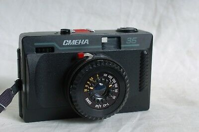 LOMO CMEHA 35, Smena 35mm mechanical point and shoot camera. Made in USSR!
