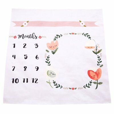 Baby Newborn Monthly Growth Milestone Photography Celebirity Blankets Props Gift