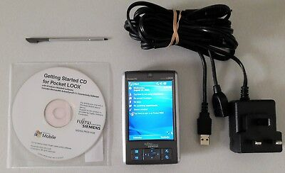 PDA Fujitsu Siemens LOOX C560 Pocket PC with extended battery