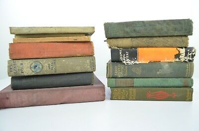 Vintage Antique Book Lot of Religious/School Books Lot 2 of 2