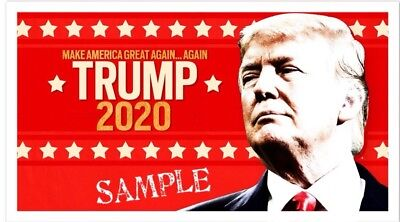 "Trump 2020 Keep America Great - 2""x3"" Flexible Fridge Magnet #3"