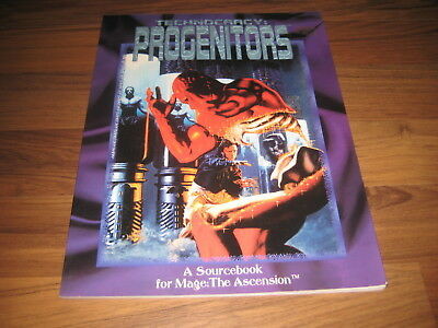 Mage The Ascension Technocracy Progenitors Sourcebook 1993 White Wolf WW4201 TOP