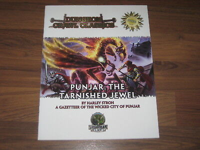 Dungeon Crawl Classics Punjar: The Tarnished Jewel Goodman Games 2008 D&D4