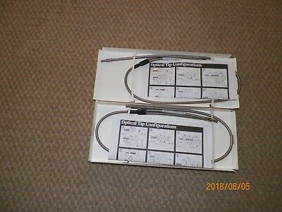 Tri-Tronics Bf-A-36  Fiber Optic Light Guides  (Two)