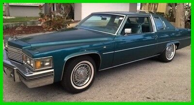 Cadillac DeVille  1979 Cadillac Coupe DeVille,7.0L,425ci,V8,3-Speed Automatic,Turn Key,Classic,RWD