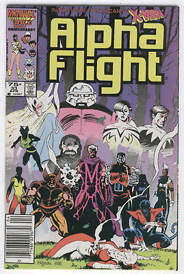 Alpha Flight #33 First Lady Deathstrike News Stand Variant VF
