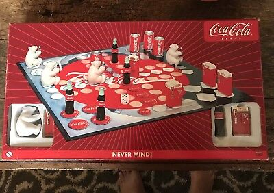 rare Vintage Coca-cola Never mind bord game Excellent Condition No Manual
