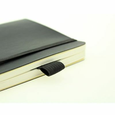 Creative Leather Pen Holder Pen Clips Notebook Pen Storage Clip