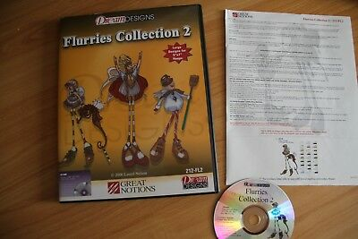 Brother Dream Designs Flurries Collection CD