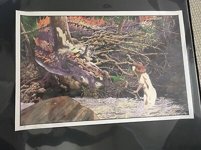 Bernie Wrightson YOU'RE NEW HERE Screen Print ARTIST PROOF - AP SIGNED