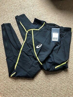Brand New With Tags Asics Running Leggings /Tights / Bottoms - Womens UK S