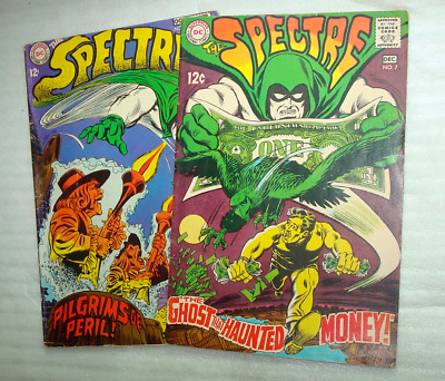 The Spectre #6 and #7 lot of two