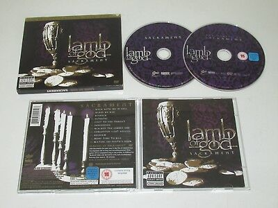 Lamb Of God/sacrament(Epic 88697 00945-2) 2Xcd Album