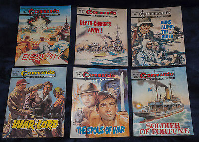Commando Comics early 1980s (15 Issues)