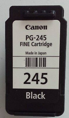 EMPTY USED Canon Fine Ink Cartridge PG-245 Black Virgin FOR REFILL ~EMPTY NO INK
