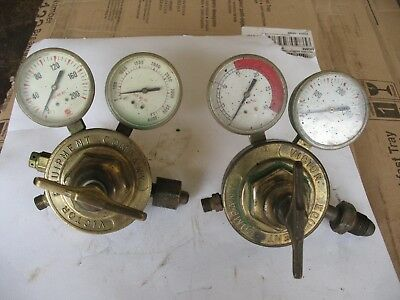 Victor Oxy Acetylene Model SR410A & R400D Regulator Set