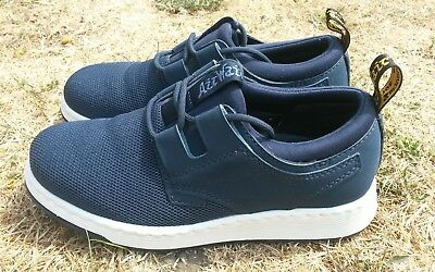 Dr Martens Softwair Blue Trainer Shoes Size Uk 4 With Bouncing Soles
