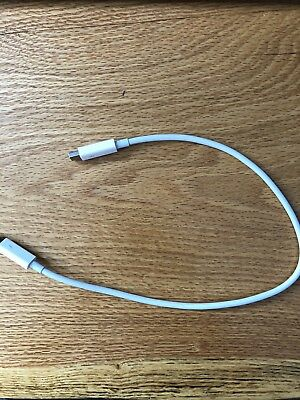 Used Genuine Original OEM APPLE Thunderbolt Cable 0.5m White