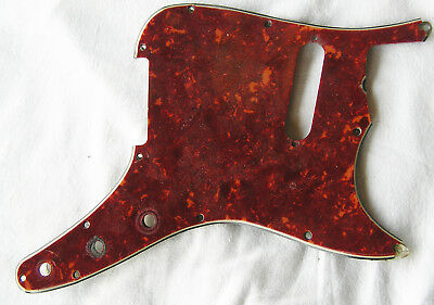 1960s Fender Music master Pickguard Faux Tortoiseshell with Shield No reserve