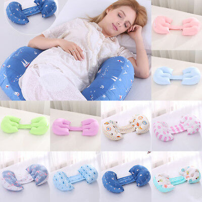 Foldable Body Bolster Maternity Pregnancy Sleeping Support Pillow Cushion