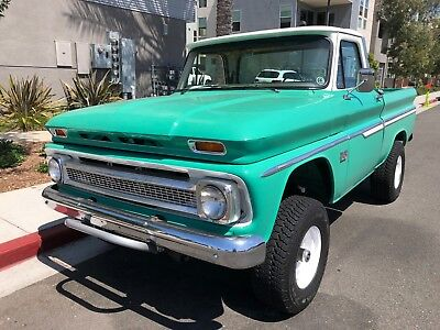 1966 Chevrolet C-10 Chevy C10 on Blazer Frame 1966 C10 Chevy truck custom