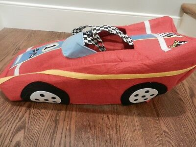 Pottery Barn Kids Small Race Car Toddler Halloween Costume