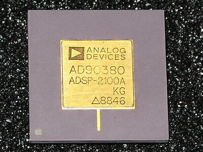 ANALOG DEVICES ADSP-2100A DSC Microprocessor selten RAR,Vintage, Goldcap
