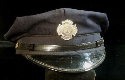 Wanamassa 1 Fire Department Dress Uniform Hat (Ph 5)